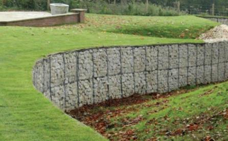 Retaining Wall Design Ideas boulder retaining walls 15 Gabion Stone Fencing Ideas Gabion Fence Seat Idea Gabion Wall Stability Guidelines Gabion Retaining Wall Design