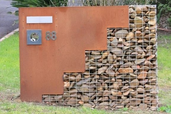 Rock Wall Ideas Garden Wall Designs and Costs Gabion1 Australia