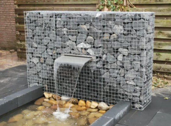 Gabion Garden Water Features Australia