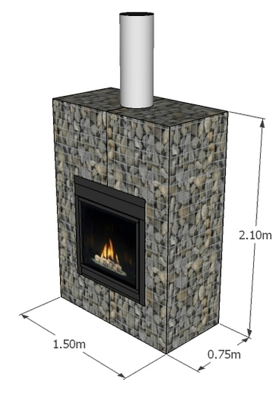 gabion outdoor fireplace price fire place designs