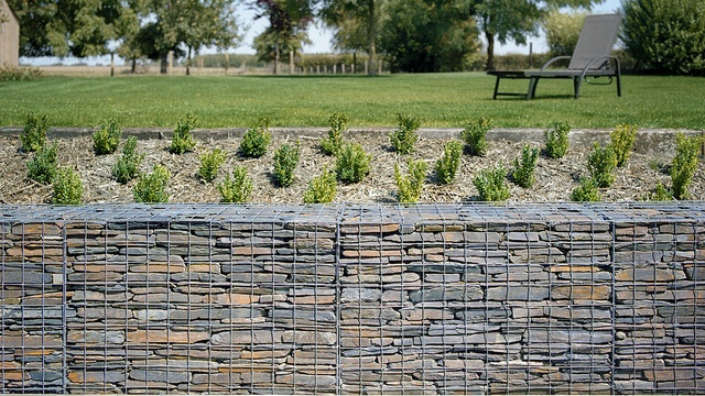 Schist Stone Gabions Schist walls fences and supplies