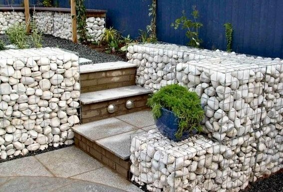 Rock Wall Design muro interior yo muro en segundo piso arriba de la cochera en lugar de duela de madera modern house details pinterest the fireplace design Gabion Retaining Wall Design Guidelines Gabion Decking And Steps White Roundeed River Orcks Gabion_retaining _wall_gates