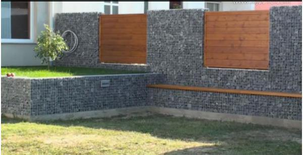 finished gabion foundations gabion baskets for retaining walls - Gabion Retaining Wall Design