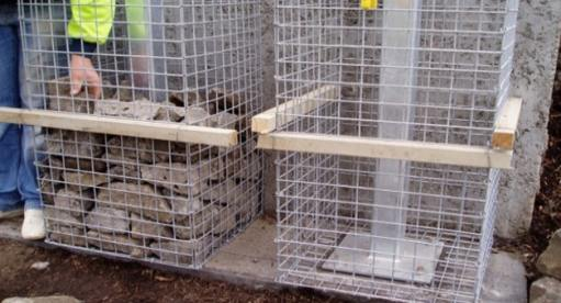 Gabion Stone Pillars And Columns Fences Gate Post Supplies