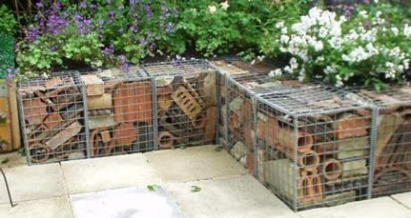 gabion wall demolition brick wall