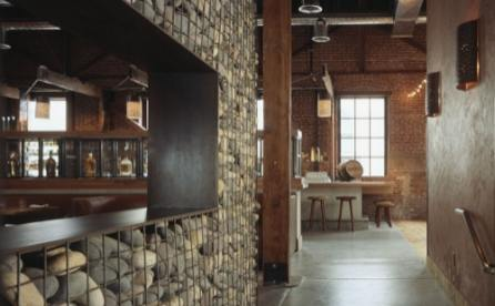 interior gabion design idea