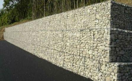 gabion retaining wall design guidelines gabion stone fencing ideas gabion fence seat idea - Gabion Retaining Wall Design