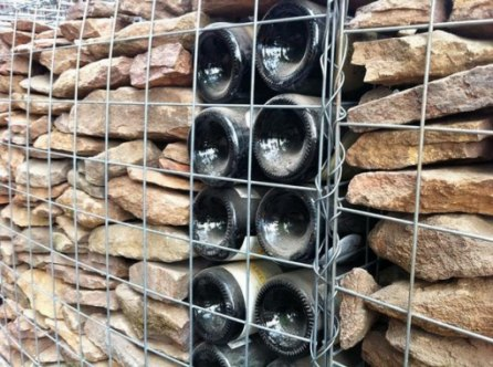 Choice to resist damage to the gabion structures during floods