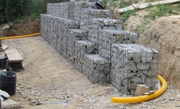 Low cost drainage for retaining wall systems Pipe price Aus