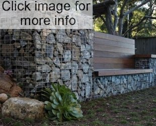 gabion wLL AND SEAT