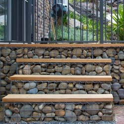 gabion steps and custom prices