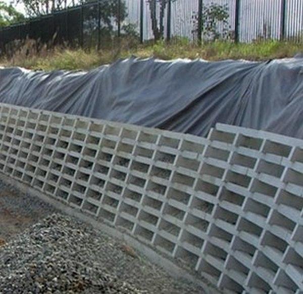 Concrete Crib Wall Retaining Gabion1 Australia