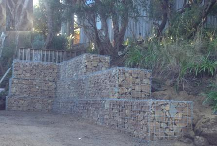 gabions with surchage