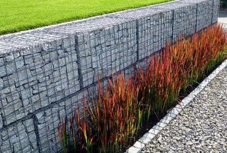vertical gabion wall