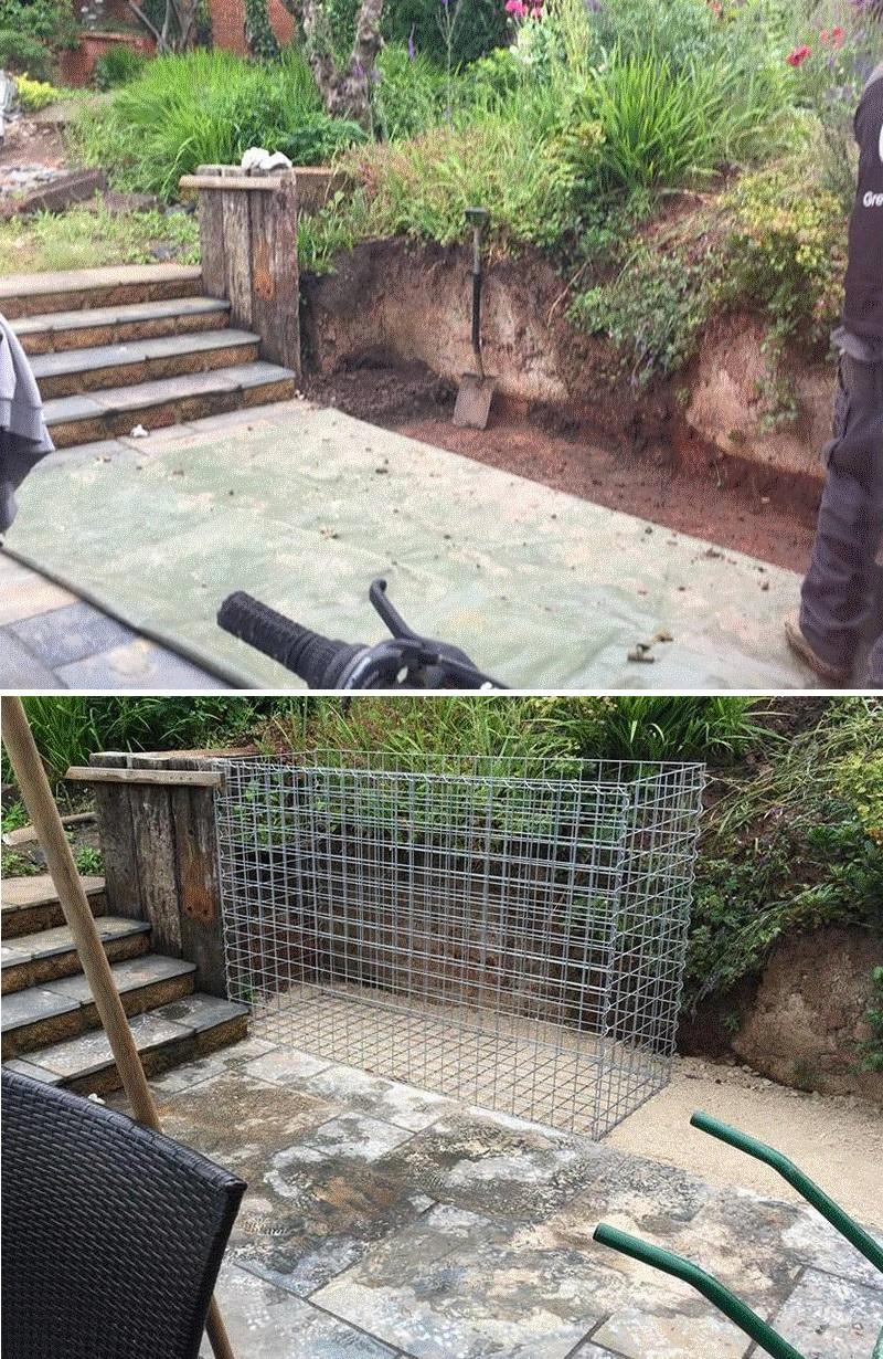 gabion foundation example