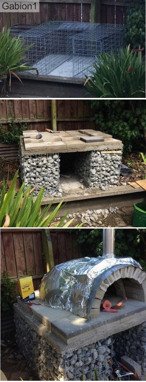 gabion oven construction